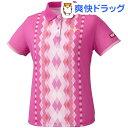 ニッタク ゲームシャツ ダイヤシャツ ピンク Lサイズ(1枚入)【ニッタク】