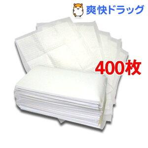 国産ペットシーツ ワイド 薄型プラス(100枚入*4コセット)【爽快ペットオリジナル】[400…