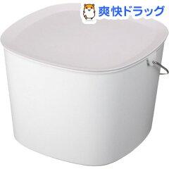 バケツ バケット ホワイト(1コ入)【ティディ(tidy)】