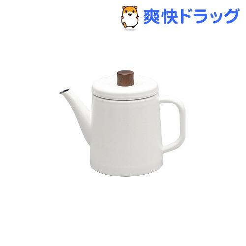 野田琺瑯 ポトル 1.5L 白 PTR-1.5KW(1コ入)【野田琺瑯】