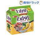 エースコック わかめラーメン ごま・しょうゆ 袋(5食入)【