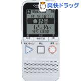 オリンパス DP-401 WHT ラジオ機能付きICレコーダー ホワイト(1コ入)