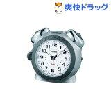 カシオ 置時計 シルバー TQ-645S-8JF(1コ入)