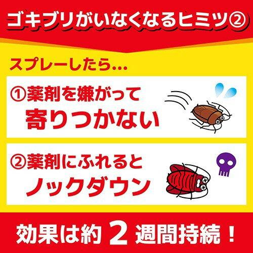 KINCHO ゴキブリがいなくなるスプレー 2週間殺虫効果持続(200mL)