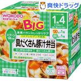 ビッグサイズの栄養マルシェ 豚汁弁当(130g+80g)