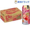 キリン 氷結ストロング 真紅のリンゴ(500ml*24本入)【氷結ストロング】