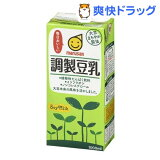 マルサン 調製豆乳(1L*6本入)