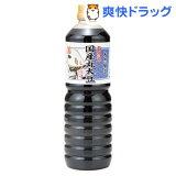 伊賀越 天然醸造 国産丸大豆しょうゆ 青(1L)