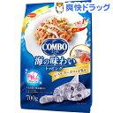 コンボ 猫下部尿路の健康維持 まぐろ味・カニカマ・小魚添え(