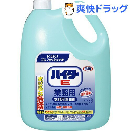花王プロフェッショナル ハイターE(5Kg)【花王プロフェッショナル】