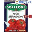 ソル・レオーネ ダイストマト 紙パック(390g*16個セット)【ソル・レオーネ(SOLLEONE)】