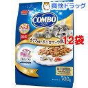 コンボ 猫下部尿路の健康維持 まぐろ味・カニカマ・小魚添え(140g*5袋入*12コセット)【コンボ(COMBO)】