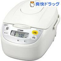 タイガーマイコン炊飯ジャー[炊きたて]5.5合ホワイトJBH-G101W