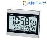 カシオ 電波置時計 シルバー DQD-720J-8JF(1コ入)