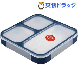 DSK 薄型弁当箱 フードマン ランチボックス 800mL ネイビー / DSK★税抜1900円以上で送料無料★...