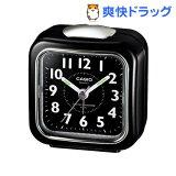 カシオ 置時計 ブラック TQ-157-1BJF(1コ入)