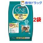 ピュリナワン キャット 避妊・去勢した猫の体重ケア ターキー(4kg*2コセット)【d_one】【d_one_cat】【ピュリナワン(PURINA ONE)】