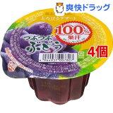 蔵王高原農園 とろけるデザート ぶどう(180g*4コセット)