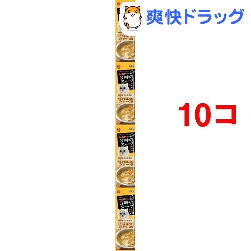 キャネット 3時のスープ カニかまぼこ添え ブイヤベース風(25g*4パック*10コセット)【キャネット】