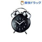 カシオ 電波置時計 ブラック TQ-720J-1BJF(1コ入)
