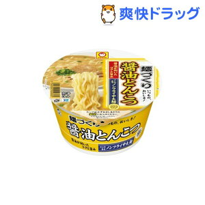 マルちゃん 麺づくり 醤油とんこつ ケース(12コ入)【麺づくり】