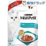 モンプチバッグ 5種のシーフードブレンドかに・えび・鯛・かつお・まぐろ味(600g)【モンプチ】