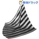 シルクのスカーフ ストライプ柄(1枚入)