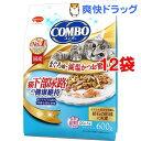 コンボ 猫下部尿路の健康維持 まぐろ味・減塩かつお節添え(120g*5袋入*12コセット)【コンボ(COMBO)】