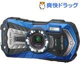 リコー タフネスカメラ ブルー WG-40W(1台)