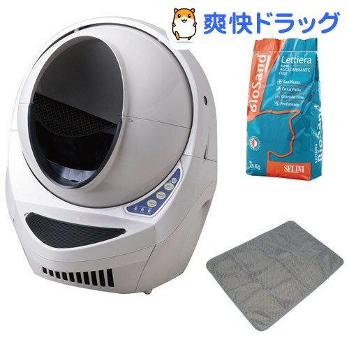 キャットロボットOA 全自動猫トイレ お買得トイレスターターセット 1年保障付(1セット):爽快ドラッグ