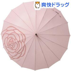 マブ ベーシックジャンプ16 ペールローズ / マブ(mabu) / 傘 雨具 レイングッズ☆送料無料☆...