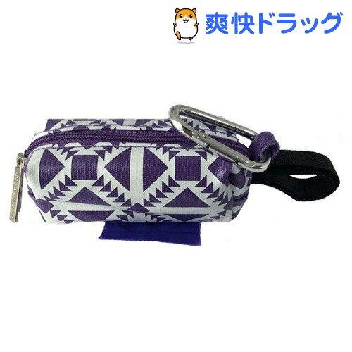 マナーバッグ パープルサウスウエスト(1コ入)【Doggie Walk Bags】