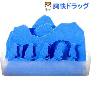 自然気化式エコ加湿器 うるおい 南極 ブルー ULNKBL(1セット)