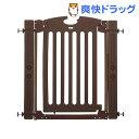 階段上で使えるゲート ブラウン(1コ入)【カトージ(KATOJI)】