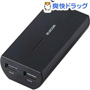 エレコム モバイルバッテリー ブラック DE-M01L-6430BK(1コ入)【エレコム(EL…
