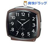 カシオ 電波置時計 ブラウン TQ-740J-5JF(1コ入)