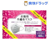 BMC 不織布マスク 小さめサイズ(60枚入)