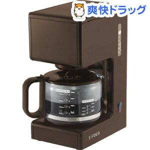 シロカ シャワードリップ式 コーヒーメーカー ブラウン SCM-501BR / シロカ(siroca) / コーヒー...