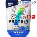 アミノバイタル アミノプロテイン バニラ(4.4g*10本入*10コセット)【アミノバイタル(AMINO VITAL)】