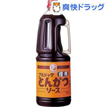 ブルドック 徳用とんかつソース(1.8L)【ブルドック】