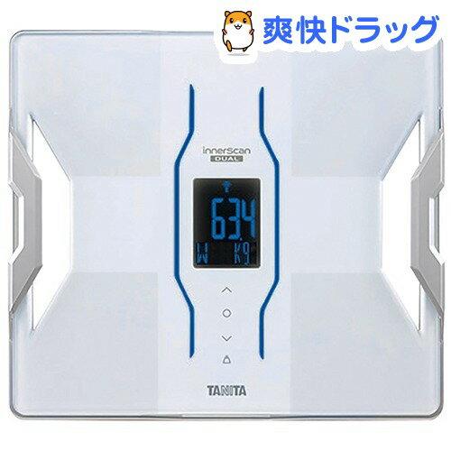 タニタ デュアルタイプ体組成計 インナースキャンデュアル ホワイト RD-906(1台)【タニタ(TANITA)】【送料無料】