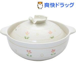 なごみ花 ふきこぼれにくい土鍋 10号 5〜6人用 約30cm(1コ入)