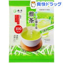 森半 サ〜ッと溶ける煎茶スティック(0.8g*100本入)【森半】