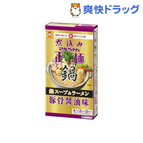 マルちゃん正麺 豚骨醤油味(4食入り)