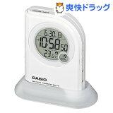 カシオ 電波置時計 ホワイト DQD-410J-7JF(1コ入)
