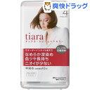 資生堂 ティアラ クリームヘアカラー 4(1セット)【ティアラ】[白髪染め]