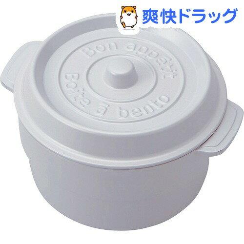 ココポット ラウンド ホワイトT-56445(1コ入)[お弁当箱]