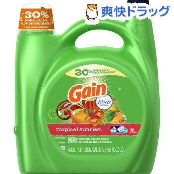 ゲイン洗濯用洗剤トロピカルサンライズ