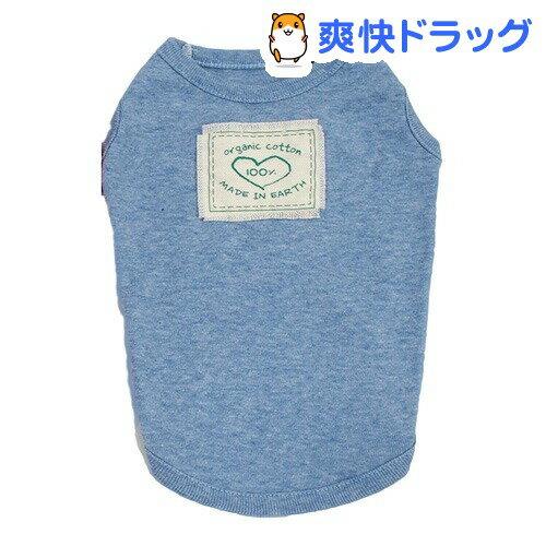 クークチュール オーガニックタンク ブルー LL(1着)【クークチュール】