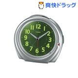 カシオ 置時計 シルバ- TQ-381-8JF(1コ入)